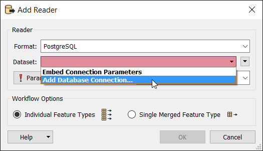 Using Database Connections